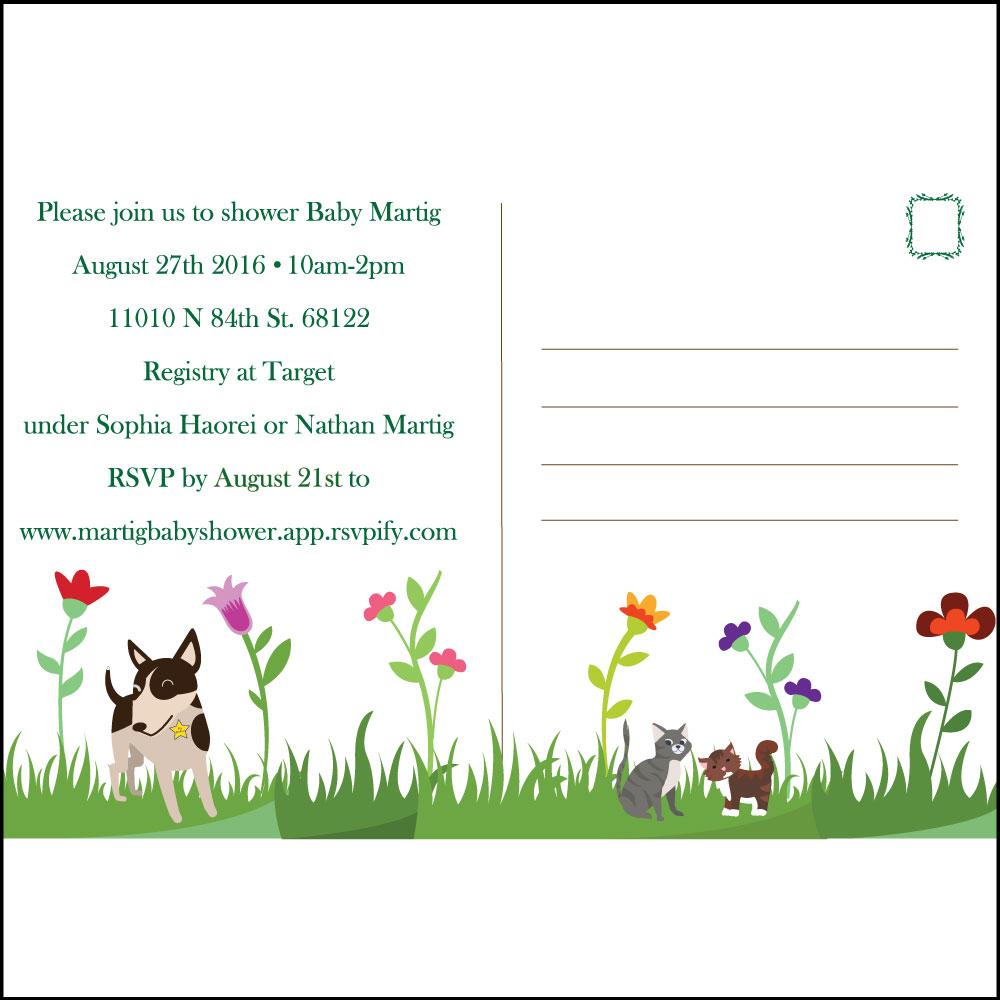 Unique Invitation as beautiful invitation template